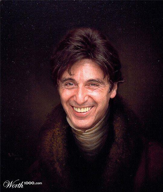 Celebrities in the Renaissance - Al Pacino