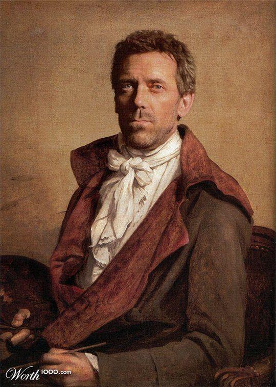 Celebrities in the Renaissance - Hugh Laurie