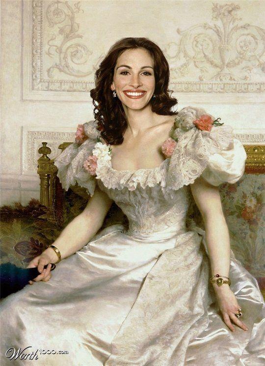 Celebrities in the Renaissance - Julia Roberts