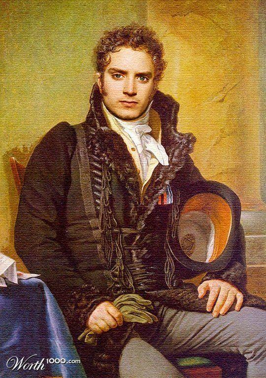 Celebrities in the Renaissance - Elijah Wood