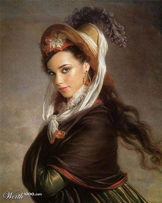 Celebrities in the Renaissance - Alicia Keys