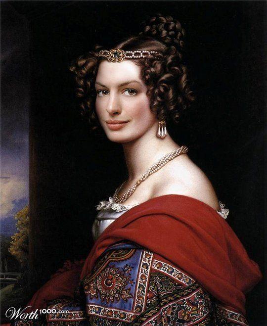 Celebrities in the Renaissance - Anne Hathaway