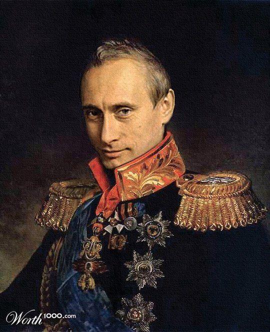 Celebrities in the Renaissance - Vladimir Putin