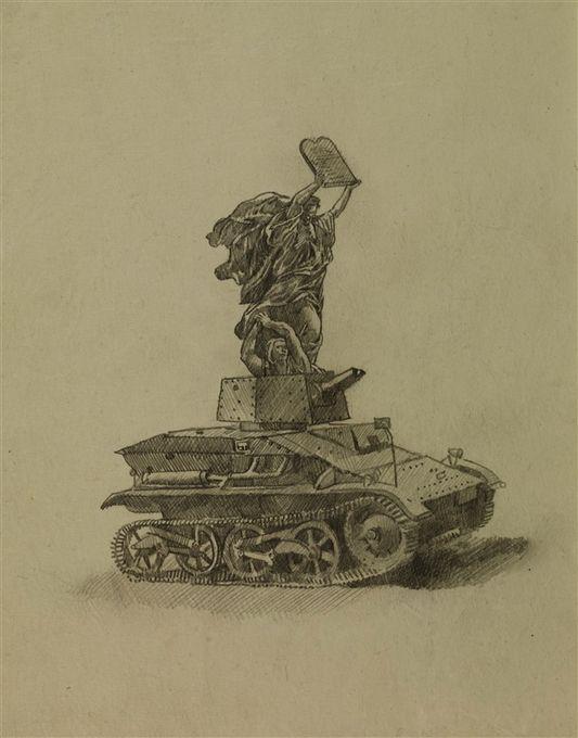 Contemporary artist Wolfe von Lenkiewicz