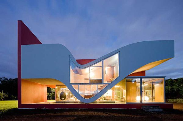 Creative House on the Flight of Birds
