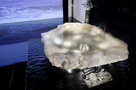 Crystal Bathtub by Paolo Baldi