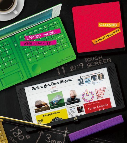 Flexbook ένα λάπτοπ-transformer