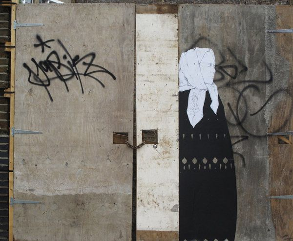 Grandma - Street Art