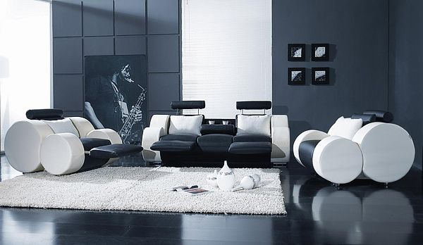 Modern Livingroom Furniture by Vig Furniture