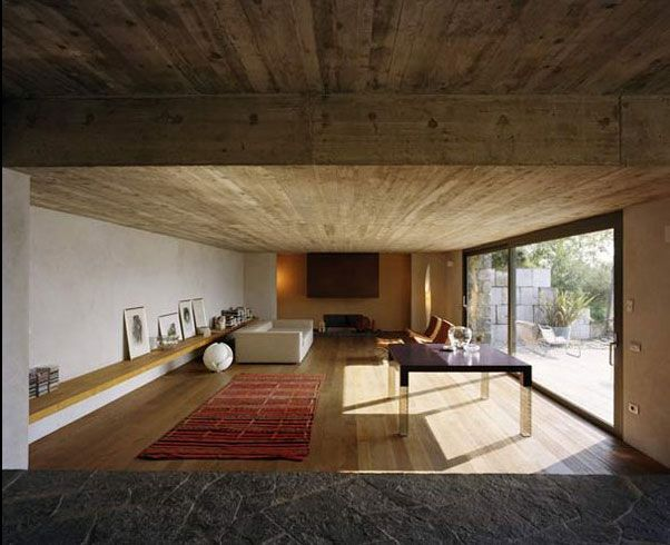 Modern Stone House Design from Italy