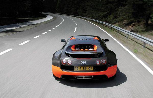 New Bugatti Veyron Super Sport