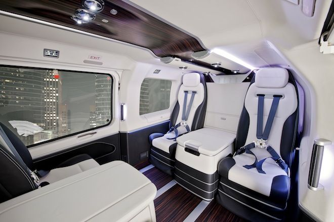 Peek Inside Mercedes' New Luxe Helicopter
