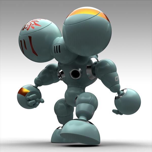 Robot MARU by Norio Fujikawa