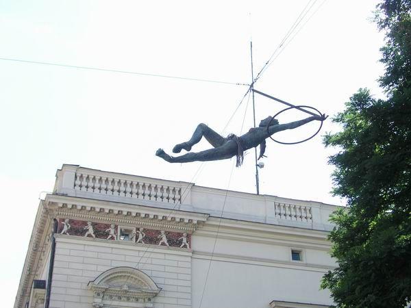 Sculptor Jerzy Kedziora