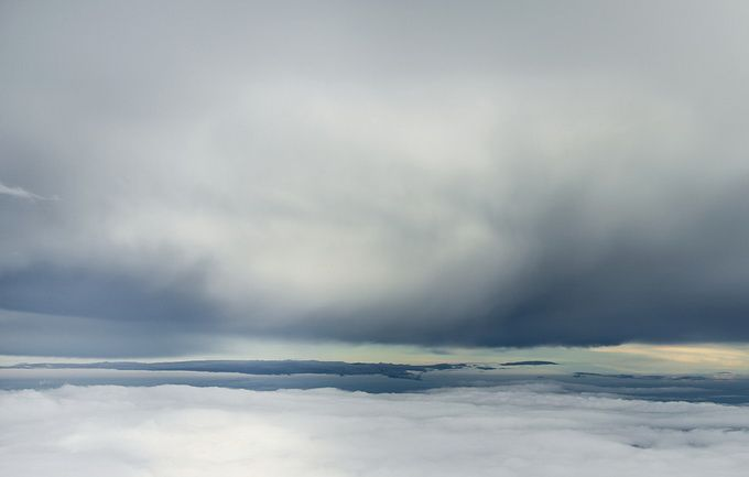 The collection of clouds