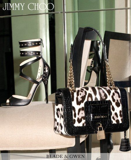The collection of Jimmy Choo Pre Fall 2011