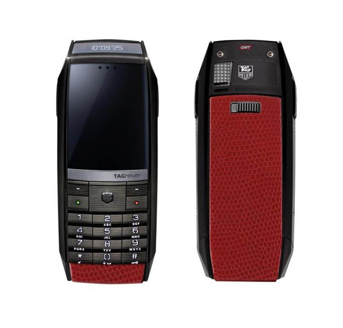 The collection of phones TAG Heuer MERIDIIST - Ντουμπάι