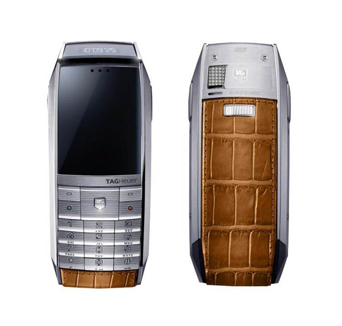 The collection of phones TAG Heuer MERIDIIST - Μόσχα