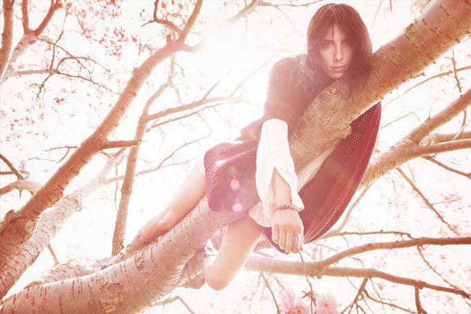 Η Jamie Bochert στο Vogue Ιταλίας