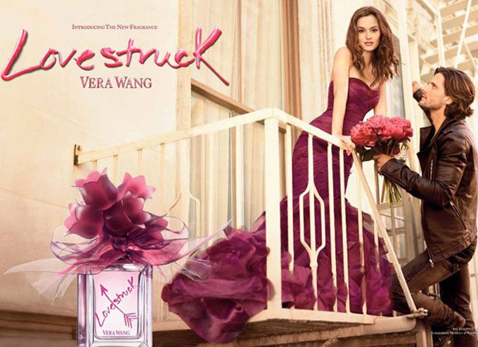 Η Leighton Meester σε διαφήμιση αρώματος Lovestruck της Vera Wang