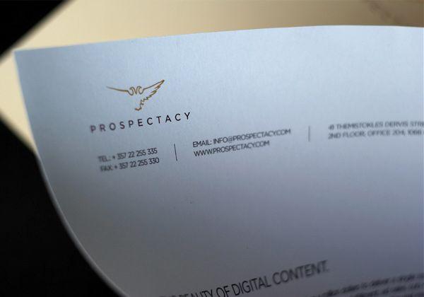 Μάρκα ταυτότητας για την Prospectacy