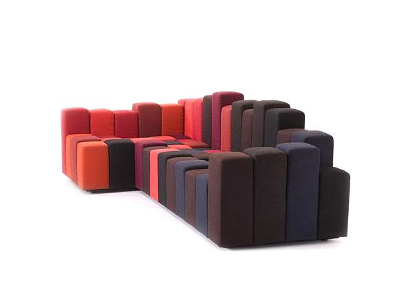 Μοντέρνος καναπές Do-Lo-Rez από τον Ron Arad