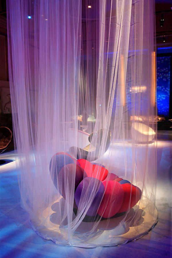 Πολύχρωμη καρέκλα Ανεμώνη από τον Giancarlo Zema