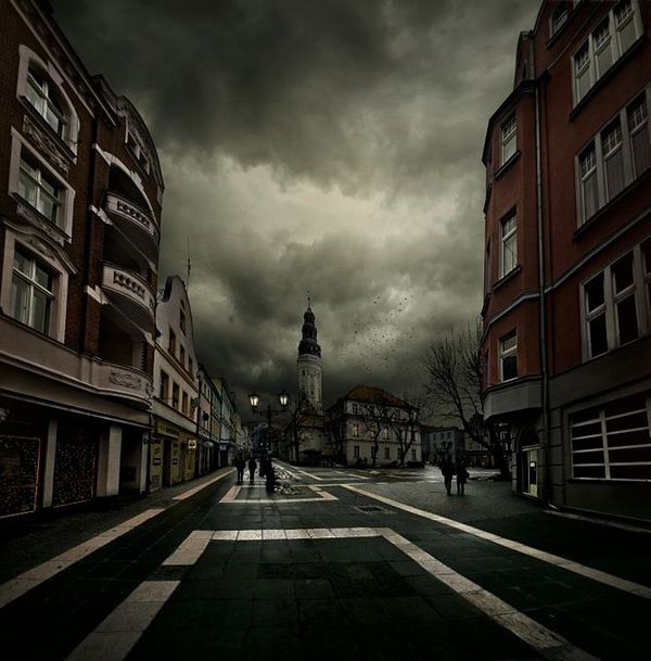 Dark and Gloomy Photo Manipulations by Alcove