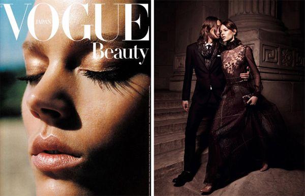 Freya Behan Eriksen in Interview and Vogue Nippon