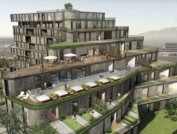 High Park - a residential complex in Monterrey
