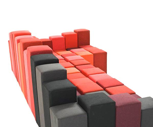 Modern Sofa Do-Lo-Rez by Ron Arad