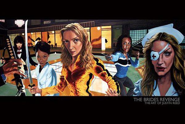 Movie illustrations Justin Reed
