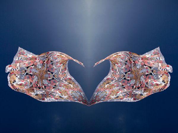 Scarves by Alexander McQueen