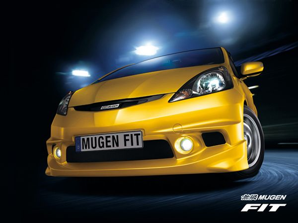 The updated Honda Fit - Jazz from Mugen
