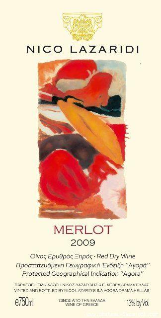 Merlot Nico Lazaridi 2009
