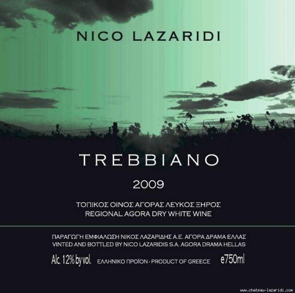 Trebbiano Nico Lazaridi 2009