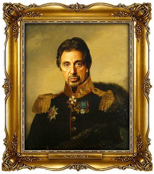 Διασημότητες παρουσιάζονται  ως ρωσική στρατηγοί - Al Pacino