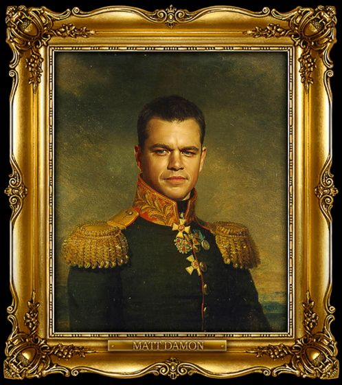Διασημότητες παρουσιάζονται  ως ρωσική στρατηγοί - Matt Damon