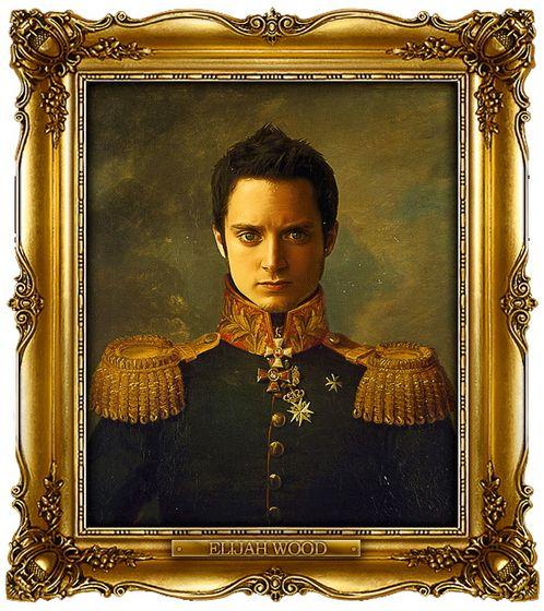 Διασημότητες παρουσιάζονται  ως ρωσική στρατηγοί - Elijah Wood