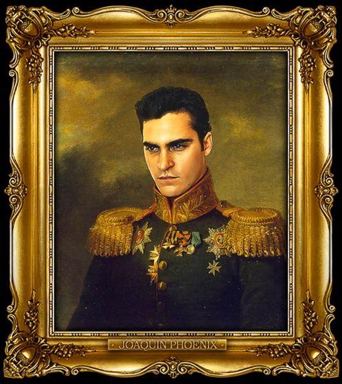 Διασημότητες παρουσιάζονται  ως ρωσική στρατηγοί - Joaquin Phoenix