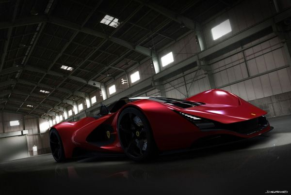 Ferrari Aliante Concept από τον Daniel Soriano