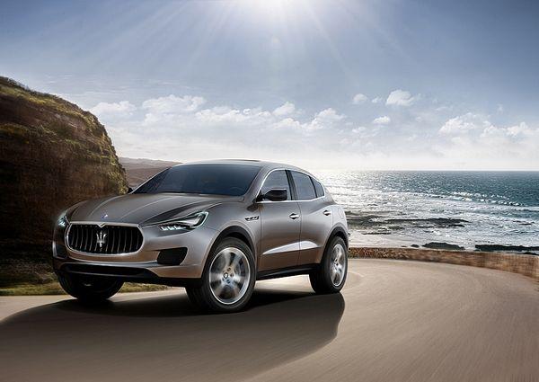 Maserati Kubang Luxury SUV
