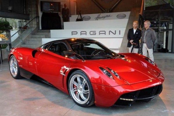 Pagani Huayra - 1.300.000 euro