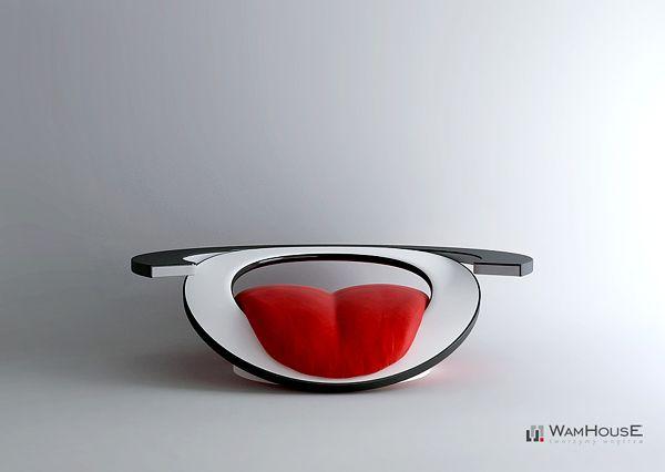 """Creative Armchair """"Paszcza""""-01"""