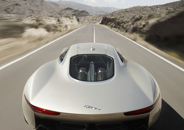 Jaguar C-X75-back