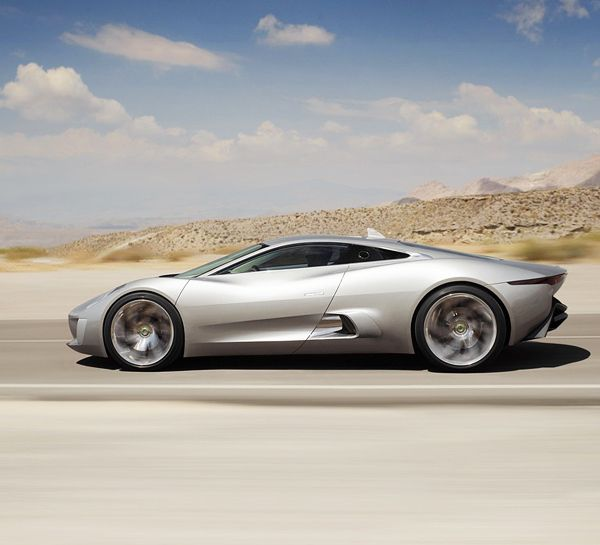Jaguar C-X75-leftside