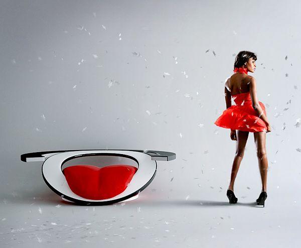 """Creative Armchair """"Paszcza""""-07"""
