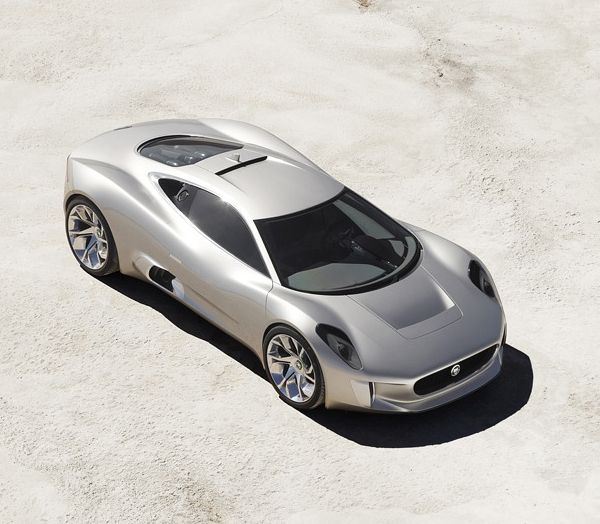 Jaguar C-X75-topview