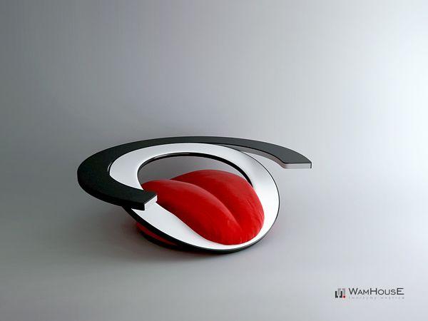 """Creative Armchair """"Paszcza""""-06"""