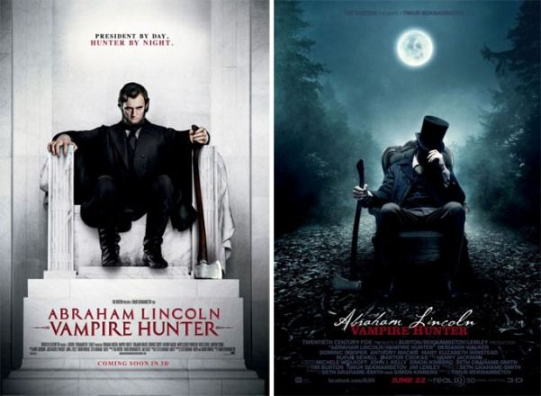Abraham Lincoln: Vampire Hunter-poster